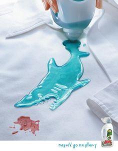 洗剤の広告。汚れは逃さない。 - まとめのインテリア