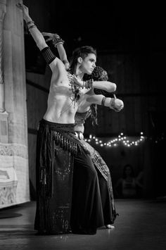 Illan Rivière is a male belly dancer, but he is a dancer, and he is beautiful