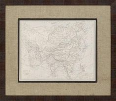 i like this matting for a map