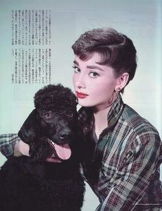 Audrey Hepburn ... Brought to you in part by StoneArtUSA.com ~ affordable custom pet memorials since 2001