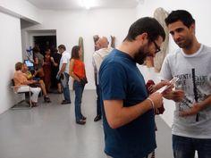 """Exposição """"aqui há anjos"""", de Paulo Neves  Galeria Gomes Alves, em Guimarães  de 10/08/2012 a 12/09/2012"""