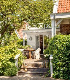 Um casa aconchegante com elementos naturais…