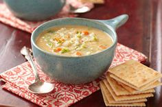 The creamy rich consistency of this simple-to-prepare soup will amaze you.