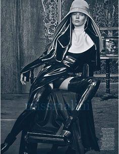Shocking! Fashion Spread of Kate Moss Mocks the Church? | MissMalini