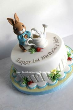 Peter Rabbit Cake                                                                                                                                                                                 More