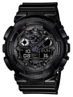 Casio Men's G-Shock GA-100CF-1AER Analogue - Digital Quartz Black Watch -- Quickly view this special  product, click the image