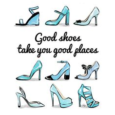 Friday Quote: get some great #shoes this weekend :-) And stay tuned because I have a great #surprise for you coming really soon!  (shoe print available in my #shop (link above) in 4 different colour palettes!) #art #illustration #print #fridayquote #motivation #inspiration #wisewords #motto #stylish #etsy by martinaillustration