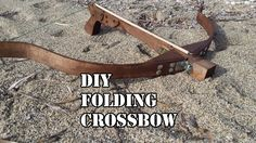 Making a Folding Crossbow - All