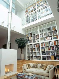 my home will have a library like this... fingers crossed.