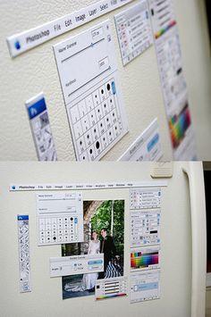 Photoshop magnets