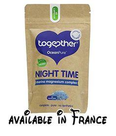 B06W9KHVFL : Together Health | Night Time Marine Magnesium | 5 x 60. Night Time Marine Magnesium. Vegan. Known Barcodes: 5060170530467 5060170530467