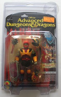 Advanced Dungeons & Dragons Action Figure Checklist | ZOLOWORLD Advanced Dungeons and Dragons MOC PROTECTIVE CASE NOW ...