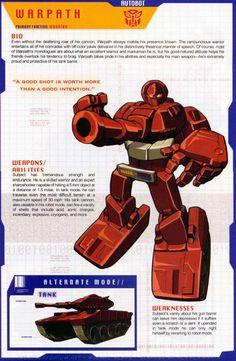 Transformers Universe - Gallery: G1 Warpath