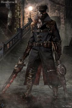 Bloodborne II - The Brigade Hunter by CalSantiago