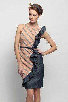 Ideal work interview dress.