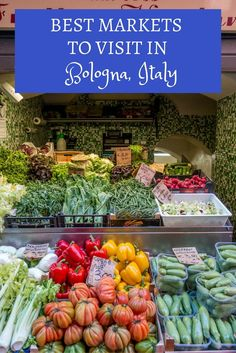The food markets of Bologna, Italy, offer a wide variety of fresh produce, cured meats, cheeses, and other fabulous local products. Here's a look at four markets to visit.