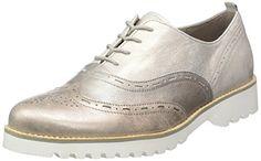 Gabor Shoes 42.548 Damen Derby Schnürhalbschuhe ,Silber (12 silber k.(S.weiss)) ,38.5 EU - http://on-line-kaufen.de/gabor/38-5-eu-gabor-damen-derby-7