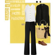 A fashion look from November 2012 featuring open front cardigan, sleeveless shirts and wide-leg pants. Browse and shop related looks. Sandy Style, Streetwear Brands, Street Wear, Gucci, Luxury Fashion, Shopping, Design, Women