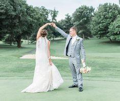 Brooke & Jake Blush und graue Hochzeit im Fountain Head Country Club 15