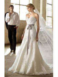 White Mermaid Sweetheart Belt Lace 2013 Wedding Dresses