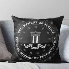 Criminal Minds - FBI Logo Throw Pillow