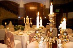 Gold candelabras  - Debonair Venue Styling