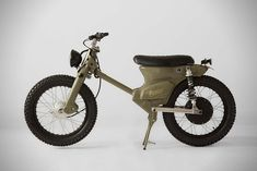 The eCub 2 is a retro electric motorcycle from the international team at Shanghai Customs, it combines the much loved Honda Cub chassis with an all-electric Honda Cub, Shanghai, Electric Moped, Electric Cars, Scooter Design, Motorcycle Camping, Retro Motorcycle, Motorcycle Outfit, Ex Machina