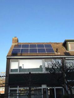 Capelle ad ijssel, 10 zonnepanelen op schuin dak