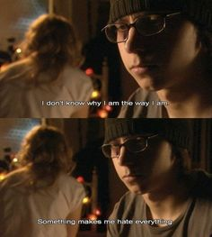Cassie Ainsworth and Sid Jenkins (Skins - Series played by Mike Bailey Hannah Murray Skins Quotes, Tv Quotes, Movie Quotes, Poetry Quotes, Life Quotes, Skins Uk, Best Tv Shows, Best Shows Ever, Skins Generation 1