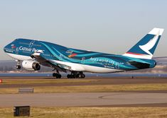 Cathay Pacific looking awesome in a special livery