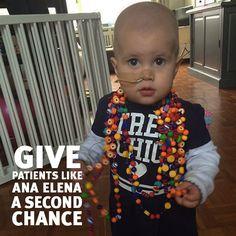 Help patients like Ana beat leukemia by becoming a bone marrow donor.