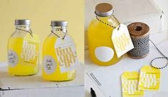 Homemade Limoncello/bitters