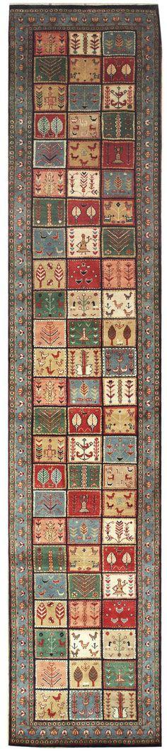 New Contemporary Persian Gabbeh Area Rug 56943 -