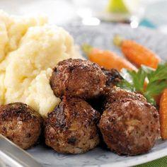 Köttbullar med potatismos
