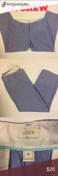 J Crew linen pants Light weight. Perfect condition. J. Crew Pants Capris