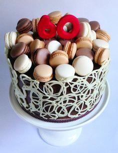 Sweet Sense Cakes Macaron Cake