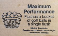 Save Water with Every Flush – American Standard Champion 4 Max Review - including link to video demonstrating flushing 20 golf ball as well as a number of other things you don't want going down your toilet. Water Signs, American Standard, Save Water, Golf Ball, Toilet, Champion, Number, Link, Green