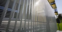 Perforated Metal Used in Application of Architecture as Fence or Panels