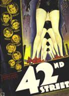 """affiche """"42nd street"""" de Lloyd Bacon & Busby Berkeley (1933)"""