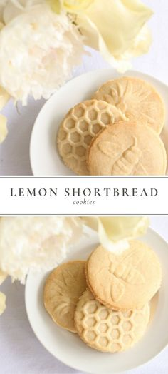 Easy, light and refreshing Lemon Shortbread Cookies recipe that offer a little crunch, hint of lemon and that buttery flavor we all love! #shortbread #shortbreadcookies #lemonshortbread #shortbreadrecipe #cookierecipe #springcookie