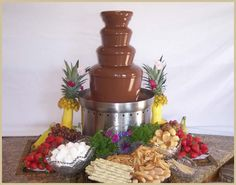 chocolate fountain | ... chocolate fountain device before here is how to use a chocolate