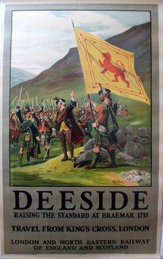 Deeside - LNER poster, 1920s by D.B.Wollen