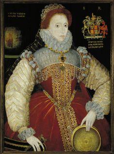 Portrait of Elizabeth I by George Gower (c. 1540-1596)
