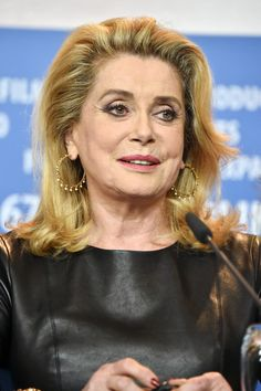 Catherine Deneuve Photos Photos - Actress Catherine Deneuve attends the 'The Midwife' (Sage Femme) press conference during the 67th Berlinale International Film Festival Berlin at Grand Hyatt Hotel on February 14, 2017 in Berlin, Germany. - 'The Midwife' Press Conference - 67th Berlinale International Film Festival