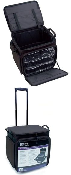 Scrapbooking Totes 146401 Storage Rolling Cart Tote Case Wheels