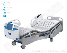 Hospital Beds - ICU : You can view all models of ICU beds manufactured by us and select the most suitable bed as per your requirements. Send us your specific purchase requirement along with quantity so that we provide CIF prices.