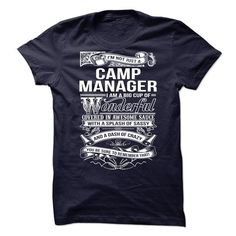 CAMP MANAGER T-SHIRTS, HOODIES (21.99$ ==► Shopping Now) #camp #manager #shirts #tshirt #hoodie #sweatshirt #fashion #style