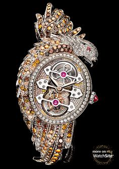 vintage boucheron jewelry for sale | tourbillon white gold diamonds rubies boucheron brand boucheron ...