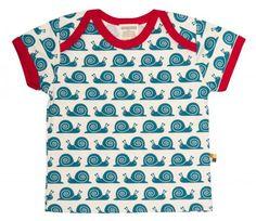 Loud + Proud T-shirt Snail | Peetje's Favorieten