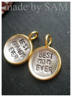 Mother's day jewelry  gift for moms  grandma  family by madebysam, ETSY $24.98